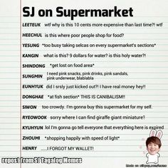 Super Junior shopping just like usual. .. yep totally normal
