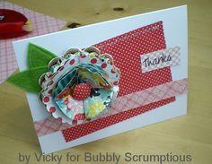 Box Top Flower Card