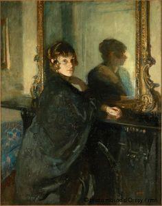 McEvoy, Ambrose (1878-1927) - 1915 Madame (Musee d'Orsay, Paris) by RasMarley, via Flickr