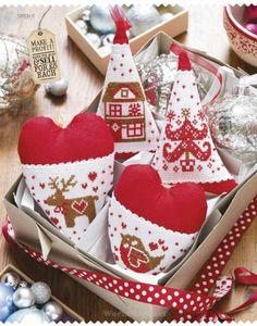 Scandinavian Hearts • 1/2 Completed Designs