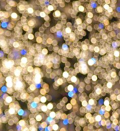 Christmas lights golden dotslight abstract picture Bokeh #photography
