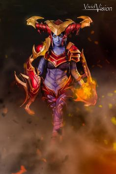 Cosplayer: Kitnip Cosplay Character: Shyvana the Half-Dragon From: League of Legends