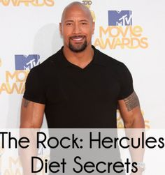 """Want to look like Dwayne """"The Rock"""" Johnson? He's tweeting his secrets to the Hercules Diet. He's prepping and bulking up to play the Greek hero."""
