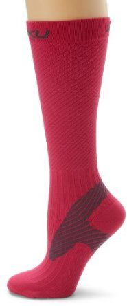 2XU Women's Elite Compression Performance Sock  LOVE THEM! Great for runners! Designed as an athletic sock with circulation and muscle support benefits with additional support in the Achilles / Ankle area for increased stability Great for training, racing, and recovery