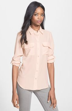Equipment 'Slim Signature' Silk Shirt | Nordstrom