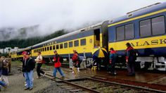 Take the train    The Alaska railroad offers a chilled and scenic alternative to driving or flying. The coolest ride is from Talkeetna to Hurricane Gulch on the Hurricane Turn, America's last flag-stop train. (Lee Foster/LPI)