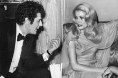 Catherine Deneuve et Marcello Mastroianni au festival de Cannes en 1971.