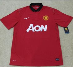 Thai quaility 2013-2014 Manchester united home soccer jersey