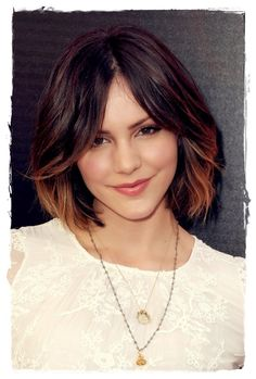 Katherine McPhee has come a long way since losing American Idol to Taylor Hicks (who?) but that hasn't slowed her down a bit! Actually, if anything, it's helped. No pressure was on her to release a hit album and she got the best PR that any singer could hope for, that money could never buy. I was a HUGE fan of Smash and I am still devastated that it's gone. With that said, Katherine went for a completely different look with her recent makeover.