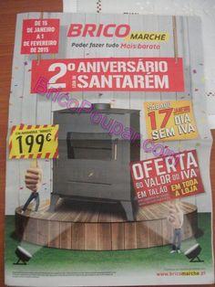Antevisão Promoções Folheto BricoMarché - de 15 de Janeiro a 1 de Fevereiro - Poder Fazer tudo mais barato - 2º Aniversário Loja de Santarém