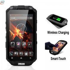 Fortis IMAN I3 Trådløs Lading Rugged Smart Telefon - Quad Core CPU, IP68 Vanntett Rating, 13MP Bak Kamera, Smart-Touch kr 4 289,00