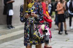 Milan Fashionweek SS2015 day2, outside Costume National