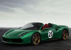 Awesome Ferrari 2017: Green Jewel... Car24 - World Bayers