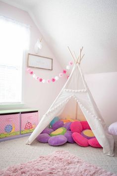 toy rooms Girls Dream Playroom Makeover: Part 1 Playroom Design, Playroom Decor, Baby Room Decor, Bedroom Decor, Playroom Ideas, Kid Playroom, Playroom Storage, Lego Storage, Bedroom Furniture