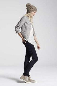 style: CAbi style......Hourglass jacket, whited Edge Tee and any of this seasons leggings!