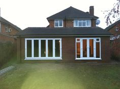 single story back extension Extension Google, Extension Ideas, Single Storey Extension, House Extensions, Kitchen Extensions, Kitchen Diner Extension, Roof Light, Flat Roof, Diy Home Improvement