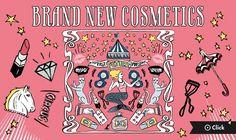 BRAND NEW COSMETICS 2016 FW