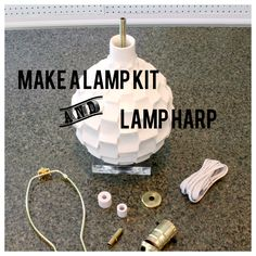 How To Make a Lamp from a Vase | DIY Tutorial with Make a Lamp Kit