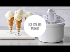 (NEW!) Pampered Chef Ice Cream Maker - YouTube