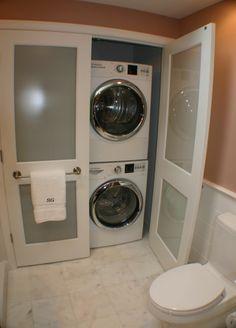 laundry bathroom combo idea