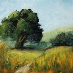 """""""Dreamscape 1"""" - Original Fine Art for Sale - © Jane Frederick"""