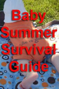 Baby tips for the hot summer months, from sleep training to car comfort to outdoor activities
