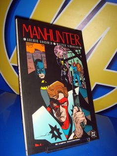 Comic MANHUNTER DC comics descatalogado Walter Simonson
