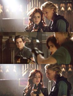 The Mortal Instruments: City of Bones ~ Alec, Clary and Jace The Mortal Instruments, Immortal Instruments, Malec, Clary Y Jace, Clary Fray, To The Bone Movie, Cassie Clare, Jace Wayland, Alec Lightwood
