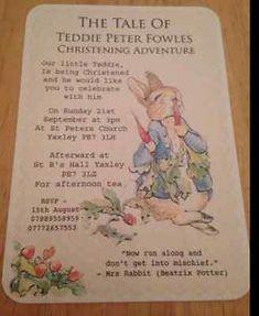Personalised-Christening-Invitations-peter-rabbit