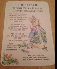 Personalised-Christening-Invitations-peter-rabbit