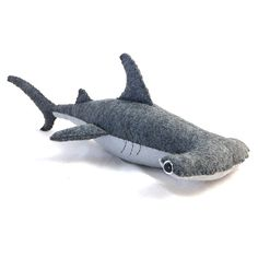 Hammerhead Shark Felt Plush by TreefortFiveShop on Etsy. Love!