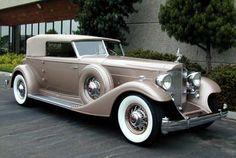 packard victoria | 1933 Packard 12, Convertible Vicitoria, Custom Dietrich