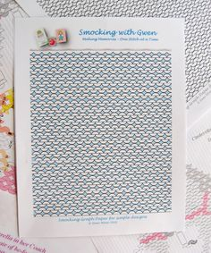 Smocking with Gwen: Smocking Graph Paper