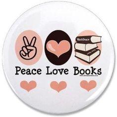Paz, amor e livros