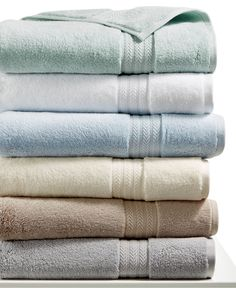 Hotel Collection Finest Elegance Bath Towel Collection, Only at Macy's - Bath Towels - Bed & Bath - Macy's Hotel Collection Towels, Aqua Bathroom, Bathroom Ideas, Yellow Baths, Yellow Towels, Towel Rack Bathroom, Kitchen Towels, Best Bath Towels, Bathroom Cleaning Hacks