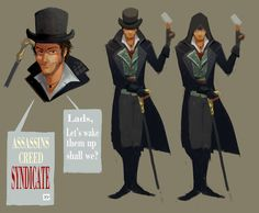 assassins creed syndicate Jacob Frye art by Xddmlgb at http://assassinscreedart.tumblr.com/