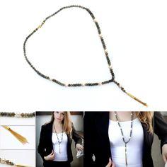 Unique gemstone necklace. #jewelry #necklace #handmade #gemstone #jewellery #handpickedclub @handpicked_club