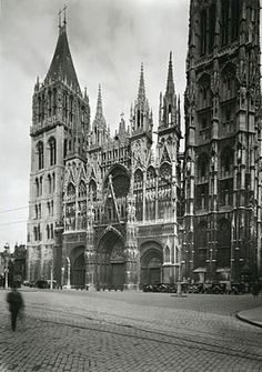 West façade of Rouen Cathedral