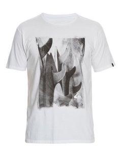 quiksilver, QK CAM SLIM FIT M/C SINGLES, SNOW WHITE (wht) Shirts For Teens Boys, Surf Design, Surf Shirt, Stylish Boys, Floral Print Shirt, Male Man, Urban Outfits, Streetwear Fashion, Mens Tees