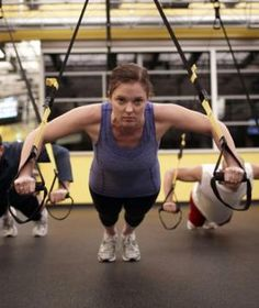 TRX Suspension Training...Sure, it looks harmless (How hard can a workout with two nylon straps really be?), but this basic tool takes bodyweight resistance training to a whole new level.