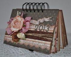2013-Premade-Desktop-Calendar-Album-Handmade-Home-Decor-Paper-Piecing-SPBS-TPHH