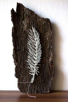 DIY | Fadenspiel von der Natur inspiriert | Feder | Naturmaterial