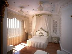 designer گروه معماری سایه: The Artistic & Decorative Masterpieces گروه معماری سایه Information it. Dream Rooms, Dream Bedroom, Master Bedroom, Interior Architecture, Interior And Exterior, Baroque Bedroom, Deco Baroque, Dream Mansion, Cozy House