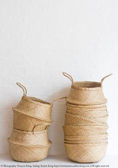 Natural basket- Bestseller — Bodie and Fou - Award-winning inspiring concept store Bikram Yoga, Beautiful Interior Design, Home Interior Design, Interior Ideas, Wicker Baskets, Woven Baskets, Basket Weaving, Decorating Your Home, Best Sellers