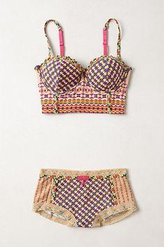 Boho, hippie, beach wear, underwear, bra, flowers, Summer