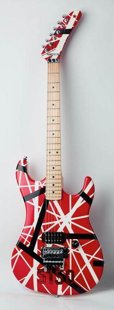 Van Allen custom made quitar by Customs-Guitars.gr