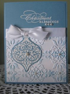 Stampin' Up Handmade Greeting Card Christmas by ConroysCorner