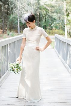 This gown is a vintage inspired masterpiece. Photography by zacxwolf.com, Gown by The Mother of the Bride