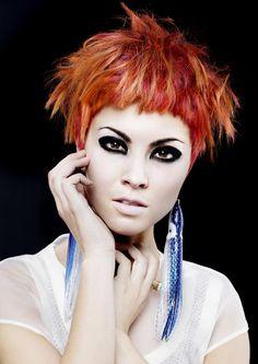 www.estetica.it   Hair: Charlene Fernandez @ Rokk Ebony Styling: Carlos Mangubat Makeup: Ollie Savage Photo: Elizabeth Kinnaird