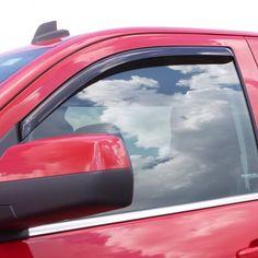 For Chevy Malibu 16-19 In-Channel Ventvisor Smoke Front /& Rear Window Deflectors